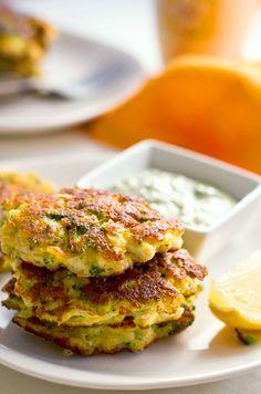 cauliflower broccoli halloumi fritters paleo recips
