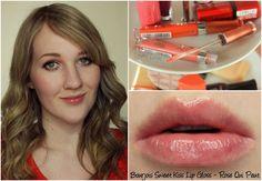 Bourjois Sweet Kiss Lip Gloss - Rose Qui Peut swatch & review