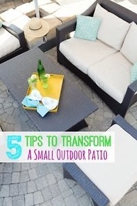 Not too long ago on my blog, I shared how I decorated a small condo patio into a fun outdoor space for less than $250! Even in the smallest space, we want a nice outdoor area to spend time in when the...