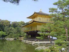 Golden Pavillion in Kyoto, Japan