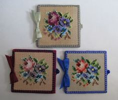 Possible reproductions, modern made Beaded needle case on perforated paper - Idele Gilbert