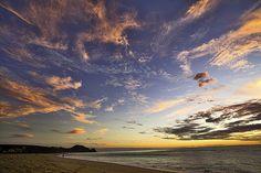 Sunset off Punta Lobos by Bob Atkinson - Todos Santos, Baja California Sur, Mexico