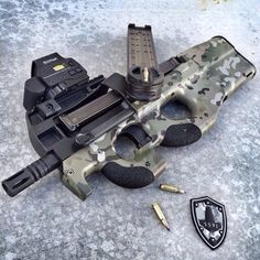 FN hertsal P90Loading that magazine is a pain! Get your Magazine speedloader today! http://www.amazon.com/shops/raeind