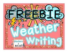 We hope this Weather Writing Pack will make researching with your students fun and easy!  Weather Topics Included Are: Sunny WeatherRainy WeatherCloudy WeatherSnowy WeatherWindy WeatherStormy WeatherFor each weather topic, there is a:KWL ChartCan, Like, FeelsFour Things I LearnedDesign a Weather Setting2 Bonus Writing Pages are Included!1.