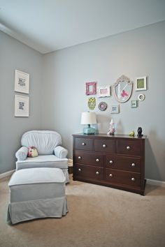 girl nursery. My niece's nursery!