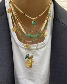 Hippie Jewelry, Cute Jewelry, Diy Jewelry, Jewelry Accessories, Fashion Jewelry, Jewelry Making, Bead Jewellery, Beaded Jewelry, Bijoux Diy