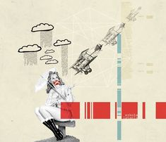 flying school by Kacper Kiec, via Behance