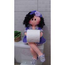 boneca porta papel higienico sentada passo a passo - Pesquisa Google