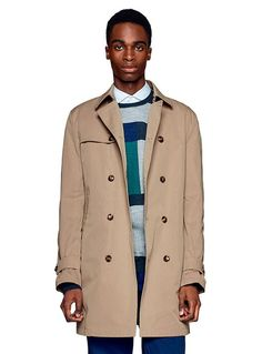 #clothesforhumans #Benetton #FW16 #collection #trend #fashion #man #trench #colorblock