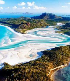 Whitsunday Islands,Australia