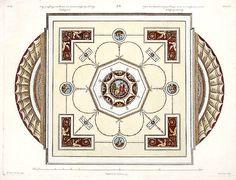 Design for a Ceiling  Robert Adam
