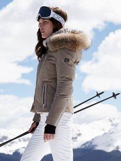 fiola-dtp sand jacket with fur - bogner - designers - Gorsuch b358fc842