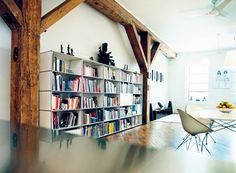 bookcase living room USM haller