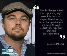 Oscar winning actor, environmental activist and UN Messenger of Peace, Leonardo DiCaprio continues to be a strong advocate of indigenious people rights, wildlife conservation and the fight against Climate Change. Today he urges us to take action, let us listen. #MotivationMonday #NoCompromise #30YearsofDilmah #ClimateChange #BeforetheFlood #leonardodicaprio  #inspiration
