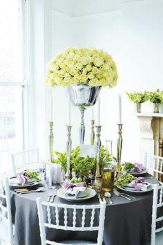 White Flowers - Elegant
