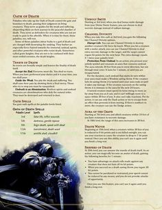 Apocalypse Oaths for the Paladin – Paladin oaths – Paleo Character Types, Character Sheet, Character Creation, Dungeons And Dragons Classes, Dungeons And Dragons Homebrew, Dnd Paladin, Dnd Dragons, Dnd Classes, Dungeon Master's Guide