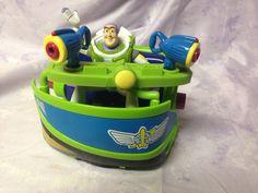 Disney Toy Story Buzz Lightyear Theme Park Space Rangers Spin  HTF Rare  #Disney