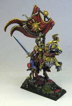 James Wappel Miniature Painting: Brunhilde for the Gold!