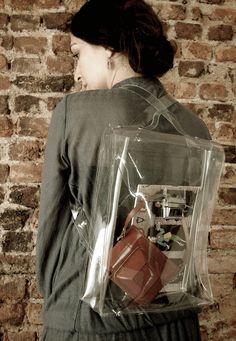 Transparent Trends Ghost Bag No1