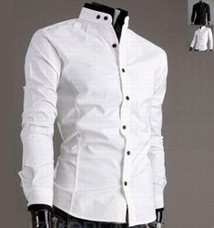 The item is a casual stitching design shirt for men. The material is very soft and comfortable and the design is very chic. It absolutely can show your personal charm. A perfect option for you, act no