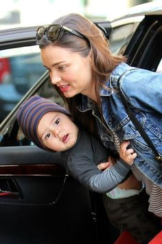 Miranda Kerr Photos - Miranda Kerr and Flynn at the Children's Museaum in New York City - Zimbio