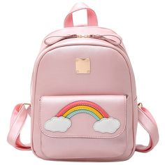 Cheap school bags for teenagers, Buy Quality bags for teenagers directly from China backpack girls school bags Suppliers: Menghuo 2017 Korean Style Backpack Women Fashion PU Leather Shoulder Bag Rainbow Small Backpack Girls School Bags For Teenagers Rucksack Backpack, Leather Backpack, Pu Leather, Cheap School Bags, School Bags For Girls, Small Backpack, Mini Backpack, Adolescents, Girl Backpacks
