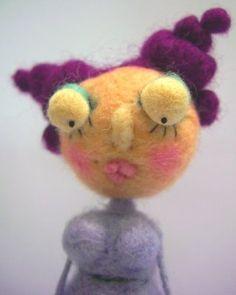A handmade doll: I LOVE her!!!