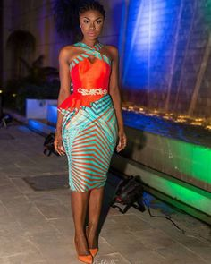 Stylish and Fashionable Ankara Styles that Will Wow You - Wedding Digest Naija Weekend Special! Stylish and Fashionable Ankara Styles that Will Wow You - Wedding Digest Naija African Inspired Fashion, African Print Fashion, Africa Fashion, Ethnic Fashion, Look Fashion, Womens Fashion, African Print Dresses, African Fashion Dresses, African Dress