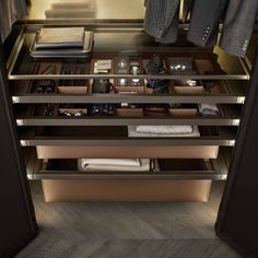 Studies have shown that most customers spend up to thirty percent of their time in the dressing room when shopping for clothes. It is often in the dressing room where decisions are made to purchase. Wardrobe Design Bedroom, Bedroom Wardrobe, Wardrobe Closet, Man Closet, Luxury Wardrobe, Luxury Closet, Walk In Closet Design, Closet Designs, Casa Bunker