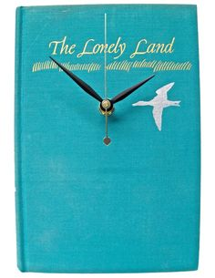 The Lonely Land $50  // vintage book clock