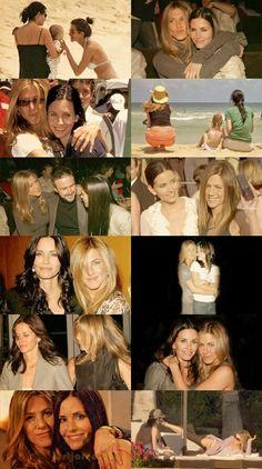 Courteney Cox & Jenifer Aniston (best friends) By: sam