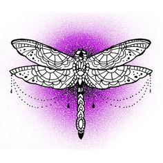 #tattoo  #dotwork  #dragonfly #mandala  #pattern  #silviapasquinelli  #cybertattoo  #ornamental  #newtribal  #oriental #mistik #lace  #tribal  #mehndi  #decorative