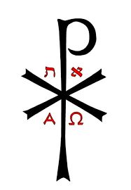 Above all is Christ Jesus.the One who turns the lost into the chosen.the broken into leaders and counselors.one can only come to the Father through Him. Chi Rho, Knights Templar, Symbols, Letters, Embroidery, Main Gate, Altar, Omega, Christ