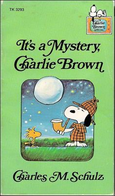 "Charles M. Schulz, ""It's a Mystery, Charlie Brown"", 1975"
