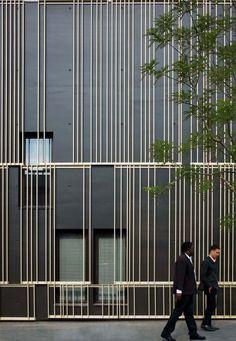 Maison du Temps Libre à Stains | Gaetan Le Penhuel Architectes #facade