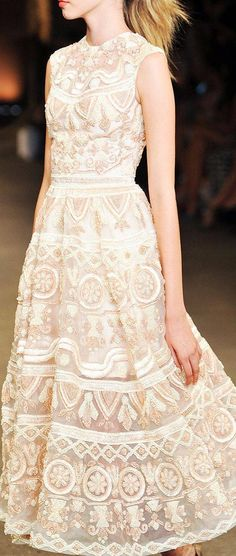 Christian Siriano- gorgeous detail and pattern.