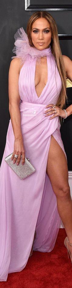 Jennifer Lopez at the Grammys Awards 2017
