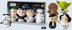 Star Wars itty bittys! Not a fan of SW but my boyfriend is. :) #ittybittys @Influenster @Hallmark