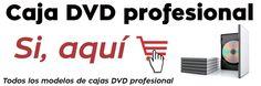 Comprar caja DVD, caja CD, estuche CD, estuche Blu Ray, sobre CD http://www.zirigoza.eu