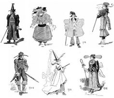 Dangerous Minds | Nailed it!: Fashions of the future as imagined in 1893...