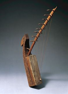 Arched Harp - Date: 19th century - Geography: Gabon - Culture: Fang people