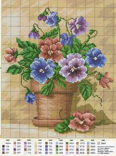 irisha-ira.gallery.ru watch?ph=bDpo-eGqwj&subpanel=zoom&zoom=8 Cross Stitch Love, Cross Stitch Needles, Beaded Cross Stitch, Cross Stitch Flowers, Cross Stitch Charts, Cross Stitch Designs, Cross Stitch Embroidery, Cross Stitch Patterns, Embroidery Patterns Free
