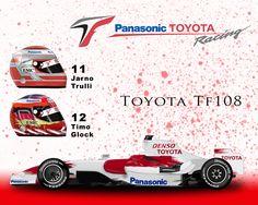 Toyota TF108 by ShinjiRHCP on DeviantArt