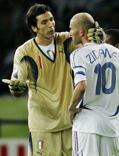 : Buffon e Zidane, 2006