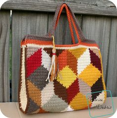 Tamara Bags pattern by Divine Debris Crochet Anchor, Knit Or Crochet, Free Crochet, Crochet Handbags, Crochet Purses, Watermelon Bag, Mochila Crochet, Tapestry Crochet Patterns, Crochet Backpack