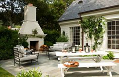 painted brick home | house white would you also paint the red brick fireplace and red brick ...