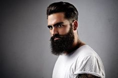 Top Tips for Facial Hair Care for men, including tips on what beard beauty products to buy and how to maintain a healthy looking beard.