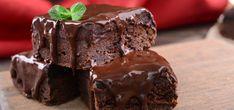 Lahodný čokoládový brownies dort