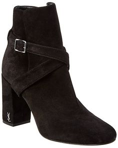 5c1a601211b Saint Laurent Babies Suede Ankle Boot Suede Ankle Boots