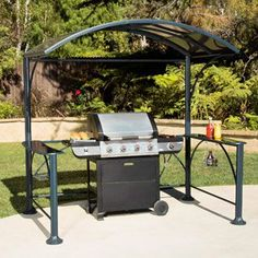 Shelter The Grill From Sun And Rain With A Grill Gazebo